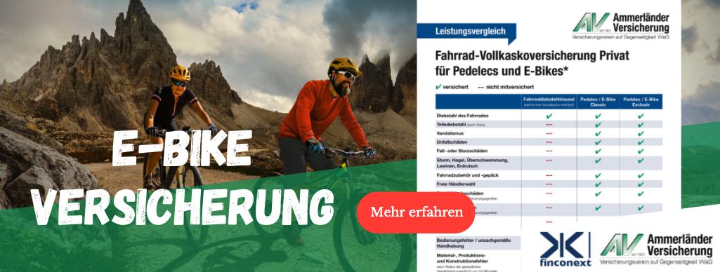 """E-Bike-Versicherung"""